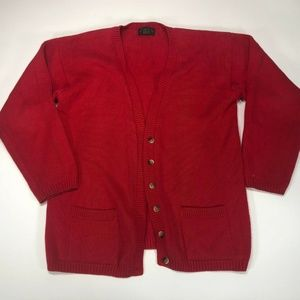 Charter Club Womens cashmere Button Up Cardigan